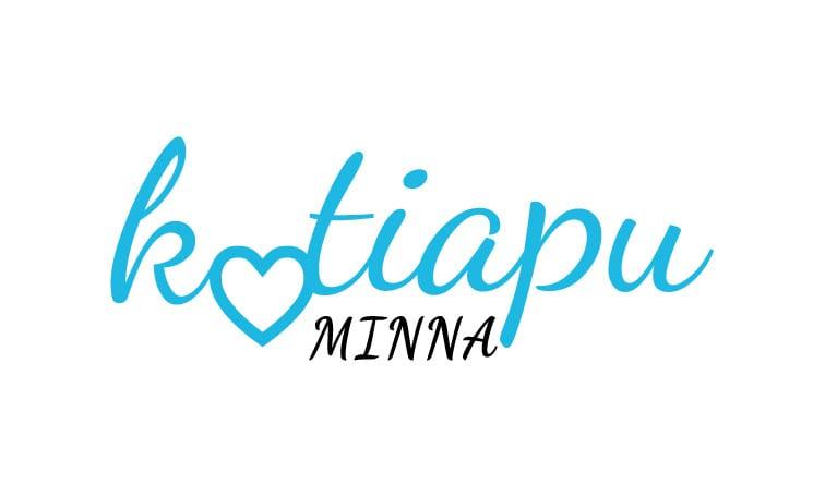 Kotiapu Minnalle suunniteltu logo