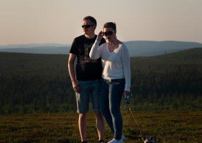 Parikuvaus 2021, Kaunispää, Saariselkä